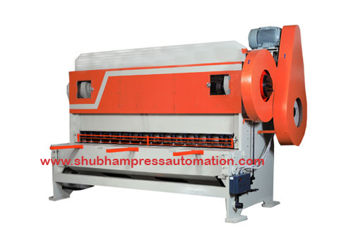 Mechanical Over Crank Shearing Machine Manufacturer