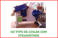 GO TYPE DECOILER CUM STRAIGHTENER