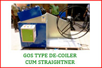 GOS TYPE DECOILER CUM STRAIGHTENER