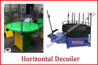 HORIZONTAL DECOILER