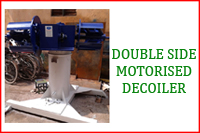 MOTORISED DOUBLE SIDE DECOILER
